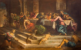 Venice - Last supper of Christ by Jacopo Robusti - Tintoretto