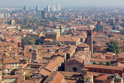 Bologna - Look from Torre Asinelli east
