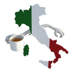 Italian coffee concept