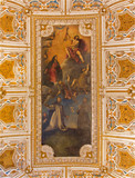 Venice - Ceiling of sacristy in San Giovanni e Paolo