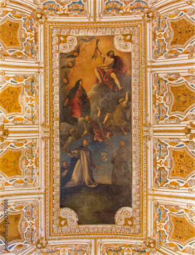 Venice - Ceiling of sacristy in San Giovanni e Paolo