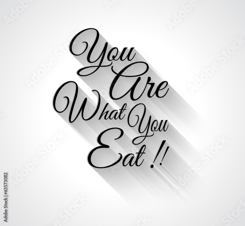 "Inspirational Typo:""You are what you ear!"""