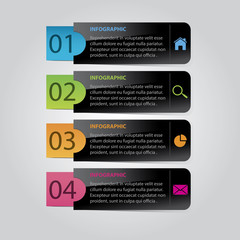 Modern Abstract Infographic