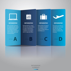 Paper Infographic -Vector