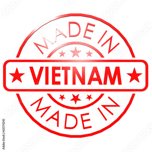 Made in Vietnam red seal
