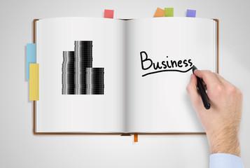 Business organizer.