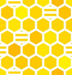 Honeycombs seamless pattern
