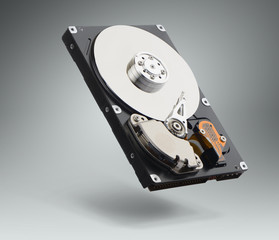 Computer hard drive. File contains a path to isolation