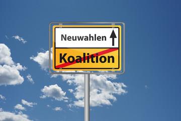 Koalition gescheitert - Neuwahlen stehen an