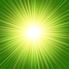 Sunbeams abstract background