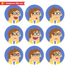 Employee facial emotions