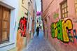 Старый город и граффити. Греция. Крит. Ханья