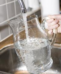 Filling water
