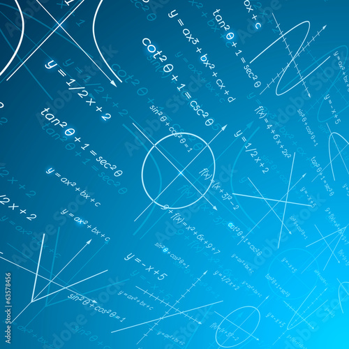 Mathematics perspective background
