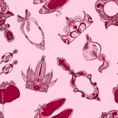 Seamless princess accessories