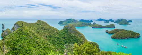 View of Ang Thong National park island