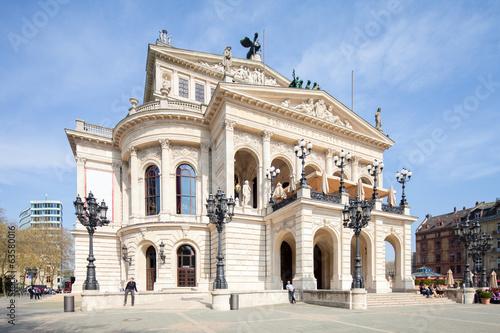 Papiers peints Opera, Theatre Alte Oper in Frankfurt