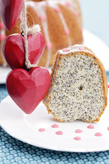 poppyseed Easter cake