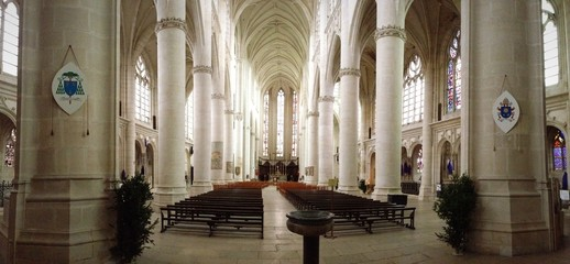 panorama cathedrale mariage