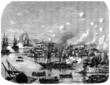 European Ships Bombing China (1858) - 19th century