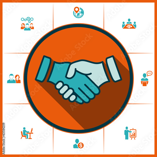Handshake and human resources