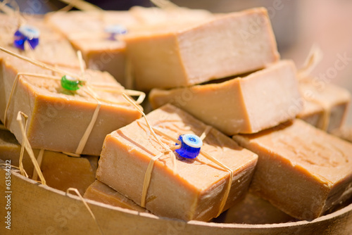 Turkish soap bricks