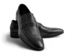 Pair of leather men's shoes