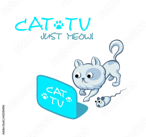 Astonishing TV channel for cats and mouses