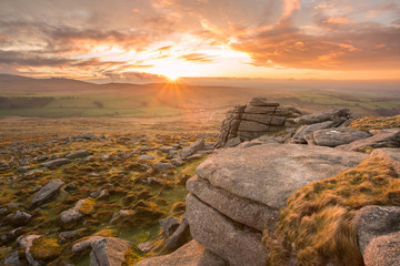 Higher Tor Dartmoor Devon Uk