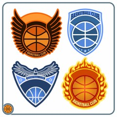Basketball emblems