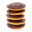 canvas print picture - Jaffa cakes - Biscuits orange marmalade / chocolate