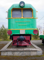 Narrow-gauge locomotive. Alapaevskaja narrow-gauge road