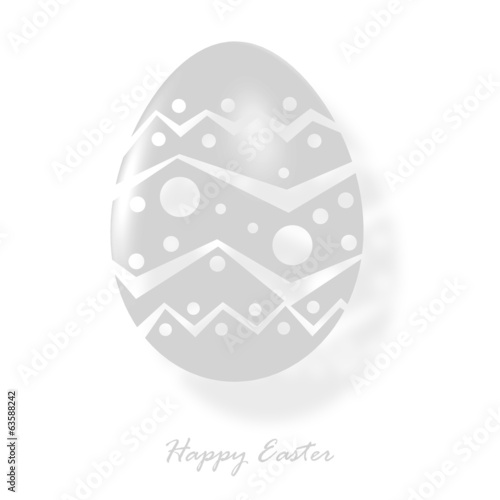 Transparent Easter Egg