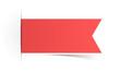 Schild Aufkleber rot