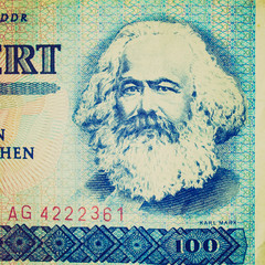 Retro look Karl Marx