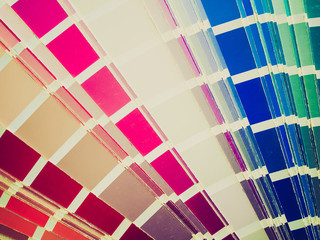 Retro look Color table