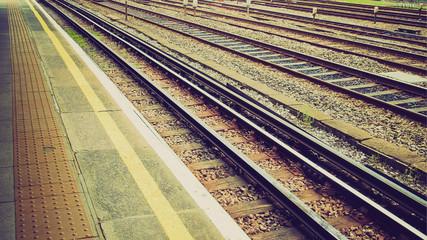 Retro look Railway