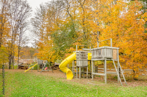 Small Playground in Autumn