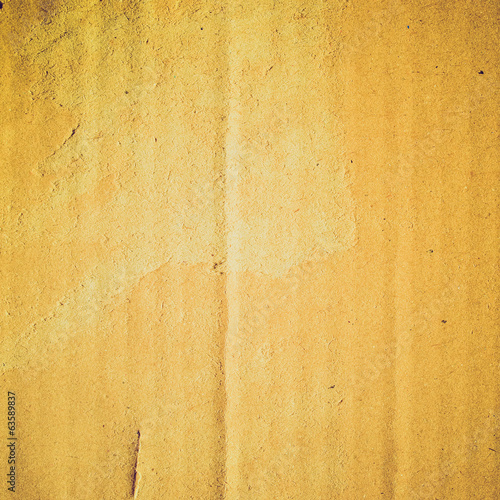 Retro look Corrugated cardboard