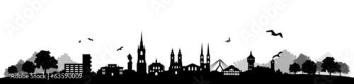 Skyline Halle / Saale