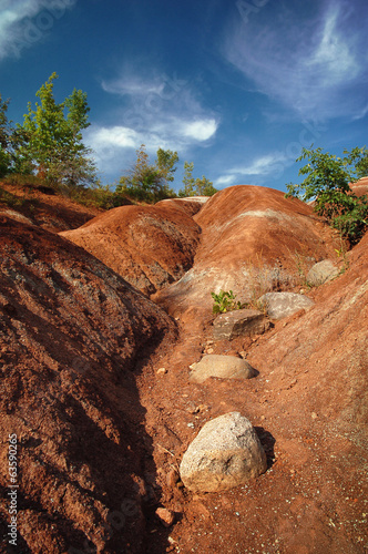 Chettelham Badlands
