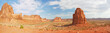Panorama of Arches National Park in Utah