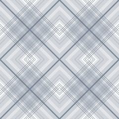 Checkered seamless plaid grey pattern