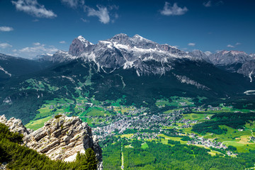 Cortina di A'mpezzo and mountains 2