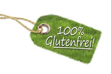Anhänger mit 100% glutenfrei