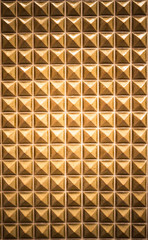 golden wall pattern for background