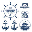 Nautical labels - 63593421