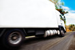 truck carrying merchandise.Close up image of wheels and rim