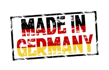 Stempel mit Made in Germany