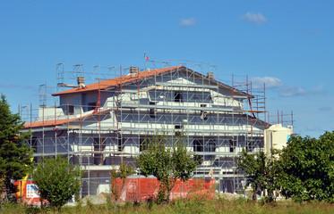 Abitazione in fase di costruzione